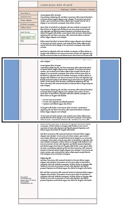 page width and line length web style guide 3